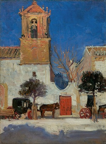 old spanish church, granada by jane peterson