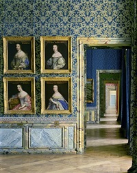 cabinet des beautees, chateau de versailles by robert polidori