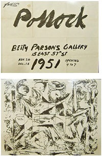 betty parsons gallery, new york by jackson pollock