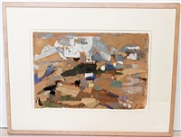 untitled landscape by janice biala