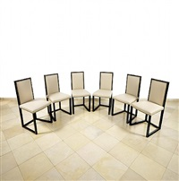 six chairs by josef hoffmann