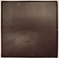 wind shield in dust storm by richard misrach