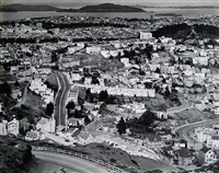view of san francisco towards telegraph hill by brett weston