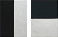 untitled from a portfolio of five plates by brice marden