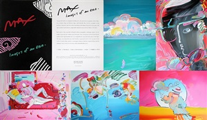 images of an era suite by peter max