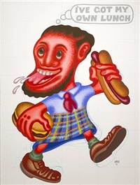 i've got my own lunch by peter saul