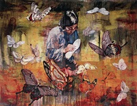 madame shoemaker by hung liu