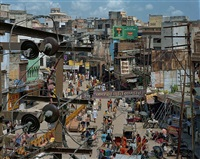 dashashwemedh road, varanasi india by robert polidori