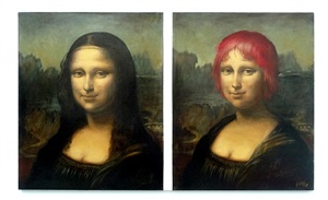 after mona lisa, new style by franceska kirke