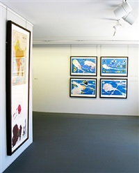 exhibition view by julian schnabel