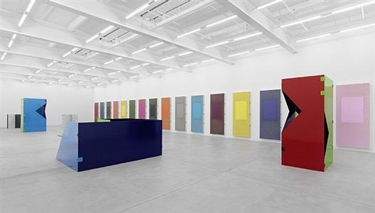 exhibition view vi by sam falls