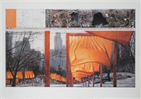 the gates: project for central park, new york city ii by christo and jeanne-claude