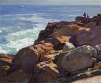 rockbound coast, ogunquit by edward henry potthast