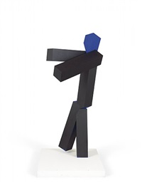 untitled (for eduardo chillida) by joel shapiro