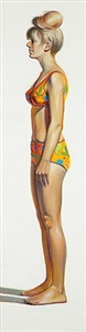 bikini figure by wayne thiebaud