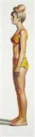 bikini figure by wayne thiebaud