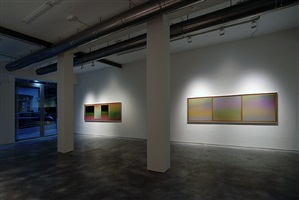 exhibition view by carlos cruz-diez