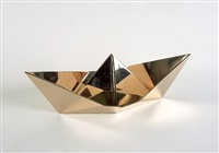 origami boat by clive barker