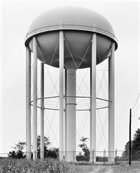 water tower, gadsden, alabama, u.s.a. by bernd and hilla becher