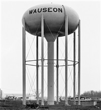 water tower, wauseon, ohio, u.s.a. by bernd and hilla becher