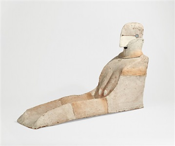 grosse sphinxbüste by lothar fischer