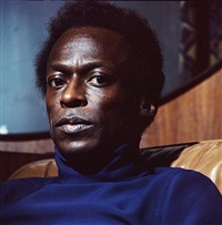 miles davis by lee friedlander