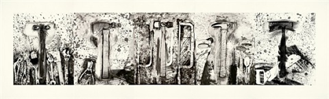 the five hammer etudes by jim dine
