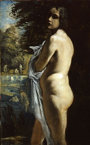 the bather by émile bernard