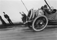 grand prix of the a.c.f. - a delage by jacques henri lartigue