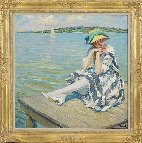 her favourite spot by edward cucuel