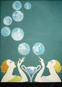 les bulles de savon by erté