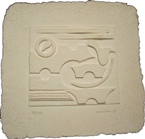 untitled (uja print) by louise nevelson