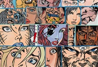 17 faces by erró