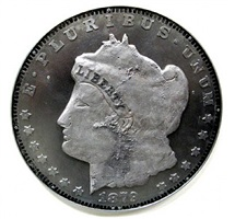 1879 morgan silver dollar by ken kalman