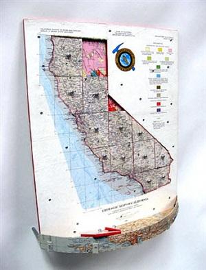 geologic map of california by ken kalman