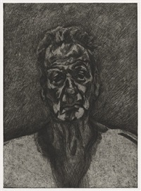 self portrait by lucian freud