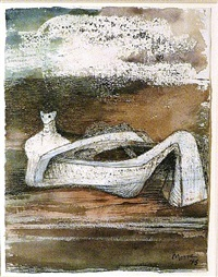 reclining figure by henry moore