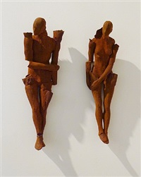ancestors (male and female) by emil alzamora