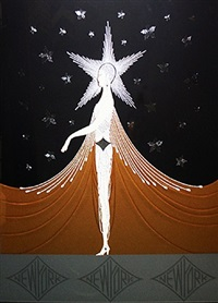 new york, new york by erté
