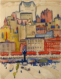 quebec city by william zorach