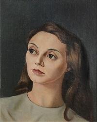 portrait de femme by leonor fini