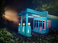 gas 76 by david lachapelle