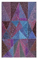 struktur über dreiecken / structure over triangles by johannes itten