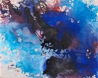 mit lichtem blau by fred thieler