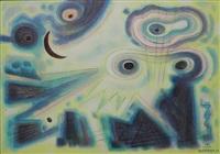 fantasy of the dark moon by emil james bisttram