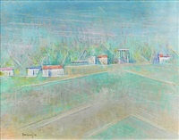 green spring fields by andrew michael dasburg