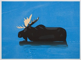 moose by alex katz