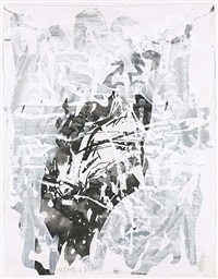 trauerseeschwalbe by georg baselitz