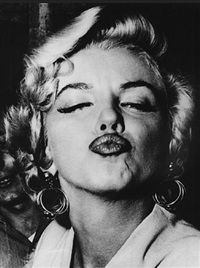 marilyn monroe by weegee
