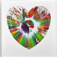 big love colour by damien hirst